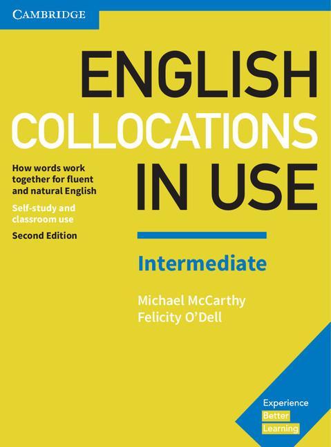 """""""English Collocation in Use"""" là một trong những cuốn sách cần có cho việc học collocation"""
